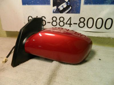 Sell TOYOTA COROLLA 2003-2008 LEFT/DRIVER SIDE OEM POWER SIDE MIRROR!!!!! IMPULSE RED motorcycle in Rockford, Michigan, US, for US $99.77