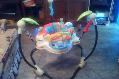 Safari Bouncer Fisher Price