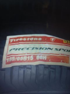 Set of 4 firestone tires