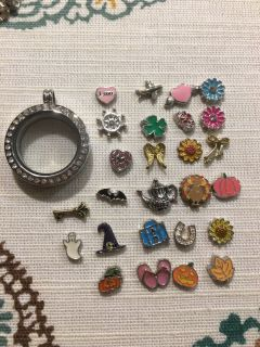 Locket and 26 cute charms!