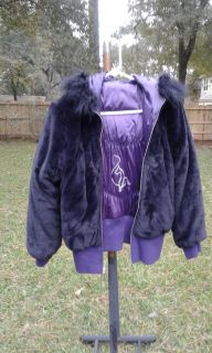 GEORGEOUS BABY PHAT REVERSIBLE JACKET