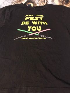 French Quarter Festival youth t-shirt small