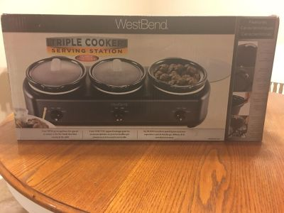 WestBend Triple Cooker