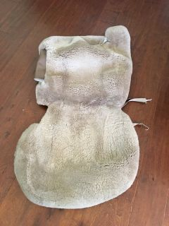 Reduced! GM Sheepskin Front Seat Covers