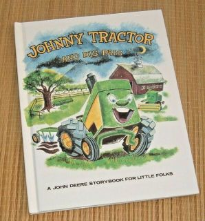 Vintage 1997 Ertl John Deere Story Book Johnny Tractor and His Pals Hard Cover
