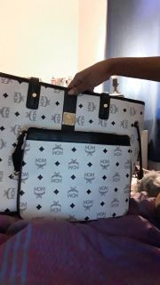 Mcm purse with pouch
