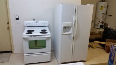 Free Appliances and vanities