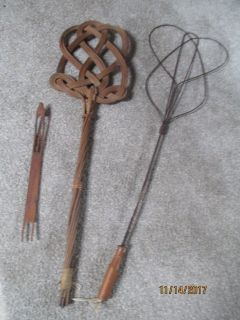 ANTIQUE RUG BEATERS