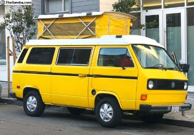 1982 VW Vanagon. Live the Dream.
