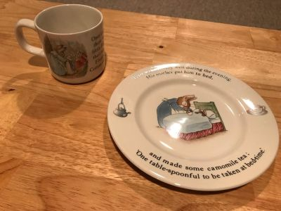 Wedgewood Peter Rabbit Cup and Plate Set