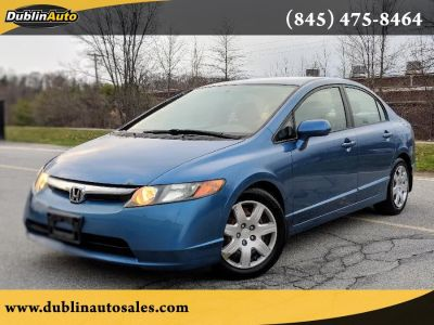 2007 Honda Civic LX (Royal Blue Pearl)
