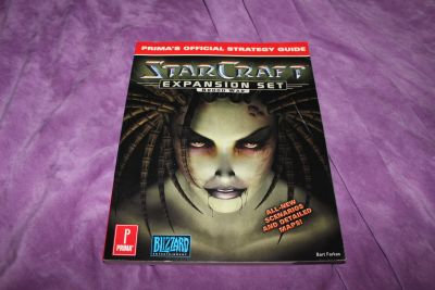 Starcraft Expansion Set: Brood War Prima's Official Strategy Guide (Paperback) by Bart Farkas
