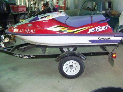 1998 Kawasaki 1100 xzi Jet Ski w/ trailer