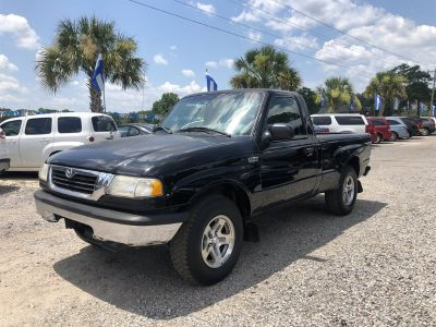 1998 Mazda B-Series Pickup B2500 SE (Black)