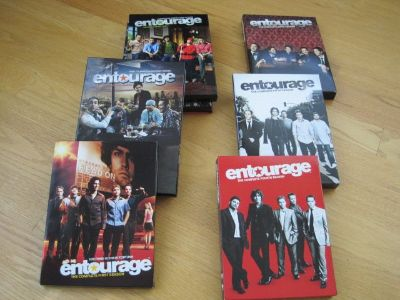 Entourage Seasons 1 to 6 HD DVD