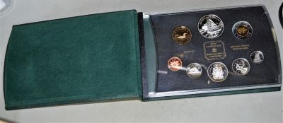2003 Sterling Silver Proof Set - With Cobalt Discovery .9999 Dollar
