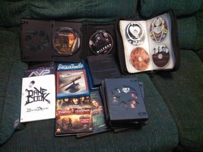 Movies and CDs for sale (CHEAP)