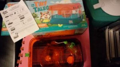 Hamster, small rodent cages