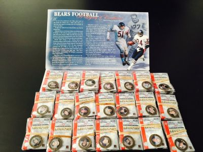 Chicago Bears Medalion Set