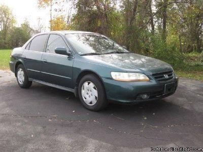 2002 Honda Accord Green LX