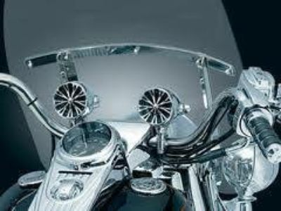"Sell KURYAKYN 4405-0270 SOUND OF CHROME HANDLEBAR MOUNT SPEAKERS FOR 1"" BARS #251 motorcycle in Sorrento, Florida, US, for US $314.99"