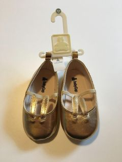Gold Bunny Shoes - Toddler - New with Tags