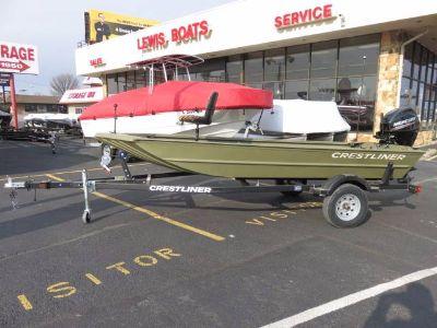 2018 Crestliner 1546 RETRIEVER JON TILLER Jon Boats Saint Peters, MO