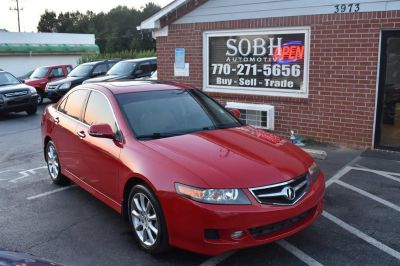 2007 Acura TSX Base (Red)