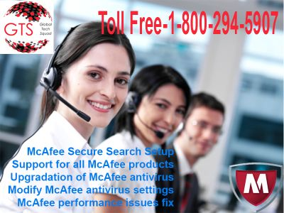 McAfee Antivirus Support Toll Free 1-800-294-5907