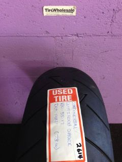 Sell Used Continental 180/55ZR17 180/55/17 Rear Motorcycle Tire ContiRoad Att (2614) motorcycle in Hollywood, Florida, United States, for US $44.98