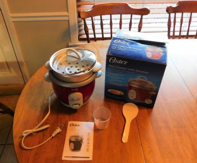 Rice Cooker with Steamer NEW