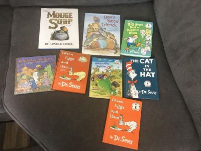 8 Hard Back Books. Take all for $16! Pick up in Aliso Viejo Friday through Sundays.