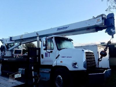 2015 Manitex 30112s Crane Mounted On 2016 Freightliner 108SD