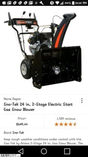 For Sale/Trade: Ariens snow-tek
