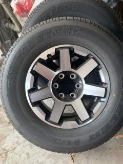 Set of Tires & Rims