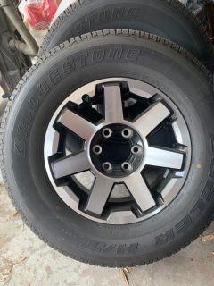 Set of Tires & Rims