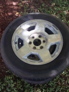 17 inch Chevy rims