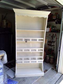 Wood Plate Rack/Book Shelf