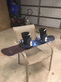 Sims your h snow board and boots