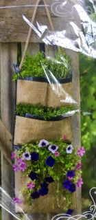 Vertical Hanging Planter Bag -New