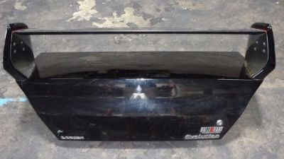 Buy 2003-2005 MITSUBISHI EVOLUTION 8 OEM REAR TRUNK AND SPOILER BLACK JDM CT9A 4G63 motorcycle in Orlando, Florida, United States, for US $190.00