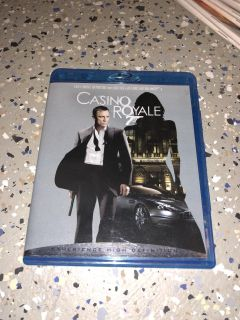 Casino royale Blu-ray movie is excellent condition