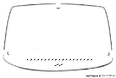 Windshield Molding Set, 914 (70-76)