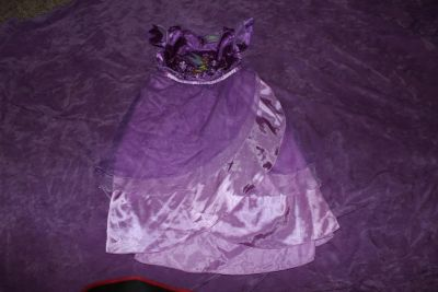 Disney Store Tulle and Embroidered Tinkerbell Gown Dress size 2/3