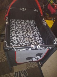 Mickey mouse packand play