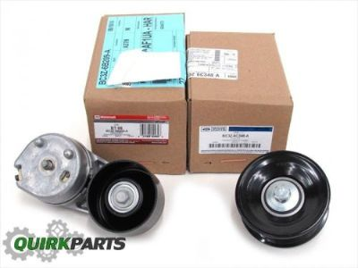 Sell Ford F250 F350 6.7L V8 Diesel Serpentine Drive Belt Tensioner & Idler Pulley OEM motorcycle in Braintree, Massachusetts, United States, for US $109.88