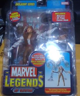 Marvel Legends toybiz Lady Deathstrike