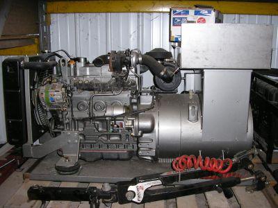 new 22.5 kw martin diesel gen with air bag suspension