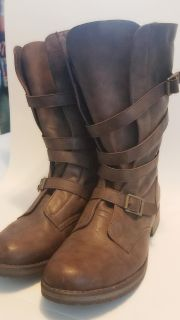 Madden Girl Military Style Boots- 9.5