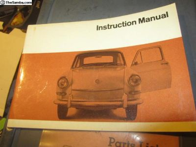1967EarlyInstructionManualFast/Square:NOS